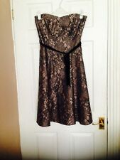 Principles Ladies Bustier Dress With Detachable Straps BNWT Size 12