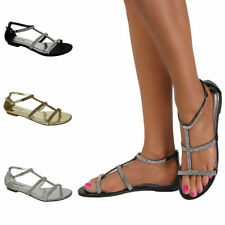 Buckle Leather Beach Medium (B, M) Sandals & Flip Flops for Women