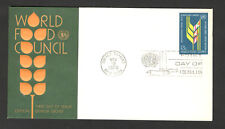 UNITED NATIONS-UNITED STATES-FDC-WORLD FOOD COUNCIL-1976.