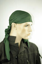 "Olive/green Genuine Army Surplus Bandana big size 31.5"" -47"" XXL"