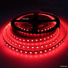 Vermelho 5M 600 Leds Smd 3528 Led Fita De Luz Flexível Faça você mesmo Lâmpadas Não-impermeável 12V