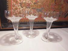3 Kerzenständer Leuchter Rosenthal Lotus