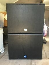 RCF Sub Woofers Amp and Crossover