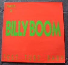 Test Tube baby, Billy boom, Maxi Vinyl