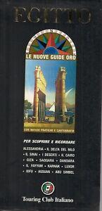EGITTO - guide oro - Touring club italiano - guida turistica - itinerari viaggio