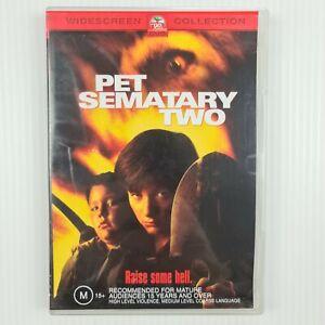 Pet Sematary Two DVD - Edward Furlong - Region 4 - TRACKED POST