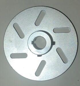 Go Kart & Mini Bike 6 inch Brake Disc / Rotor with 1 inch Bore