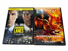 2 Dvd Lot Changing Lanes And Xx 00006000 X Vin Diesel Action Dvds
