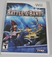 Battle of the Bands - Nintendo  Wii 2008 THQ Video Game Rated T-Teen