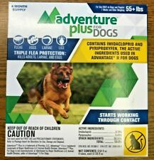 Adventure Plus for Dogs 55+ lbs Triple Flea Protection 4 Month Supply