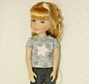 """Fit 15"""" Ruby Red Fashion Friends Doll Playtime Clothes ~Grey Leggings and Top~#2"""