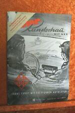 Motor Rundschau 12/54 (M) Mercedes 180 D Borgward Hansa 1500 Borgward B 4500