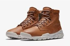 """Nike SFB 6"""" NSW Bomber Cognac Leather Boot Uk Size 10 EUR 45 862506-200"""