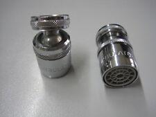 Spültischarmatur Mischdüse  Schwenkbrause Perlstahler Messing M 22 X 1