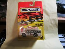 Matchbox Fast Lane #57 Mack Auxiliary Big Power Truck