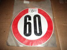 C600 - ADESIVO LIMITE DI VELOCITA 60 KM/H