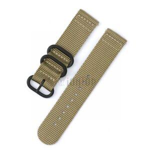 Nylon/Silicone Wrist Band Strap Bracelet For Garmin Fenix 3 5 5X 5S Plus Watch