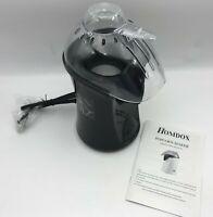 Homdox Hot Air Popcorn Popper Black