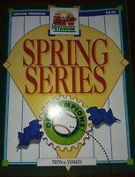 Spring Series of Champions Minnesota Twins vs. New York Yankees Spring 1992 MLB