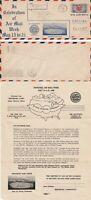 US 1938 FIRST FLIGHT AIR MAIL FLOWN COVER AIR MAIL WEEK BRIDGEPORT TO NEWARK