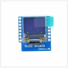 "OLED Display SSD1306 64x48 0.66"" Shield Wemos D1 Mini ESP8266 Arduino NodeMcu"