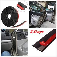 "4M 160"" Z-shape Auto Car Window Door Rubber Seal Weather Strip Hollow Seal Strip"