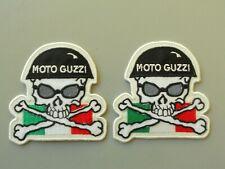 PATCH MOTO GUZZI TESCHIO  RICAMATA TERMOADESIVO CM 7 X 7.5 -COD.427