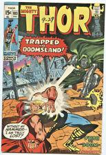 Marvel Comics: Thor 183 (1st Series)  Dr. Doom! Part 2 VF+