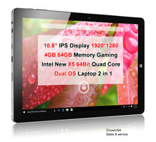 ChuwiUSA New Hi10 PLUS X5 IPS 1920* 4GB/64GB Windows 10 Android 5.1 Tablet PC