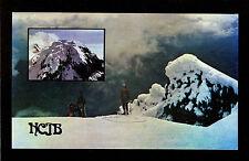 "QSL ""HCJB"" 5.970 MHz Radio Quito Ecuador ~ Mt Antisana Climbers DX SWL 1975"