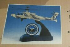 Teltime Apache Attack Combat Helicopter Alarm Clock w/Lights & Sound