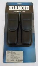 Bianchi Accumold Elite Police Model 7902 Size 1 Hidden Snap Dbl Magazine Pouch