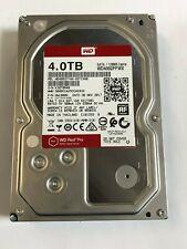 """WD Red Pro 4TB NAS Hard Disk Drive 7200RPM SATA 6Gb/s 128MB 3.5"""" WD4002FFWX"""