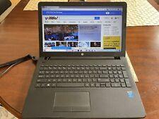 HP 15-bs121nr Laptop: i3-5005U, 128GB SSD, 4GB DDR3 SDRAM, See Description