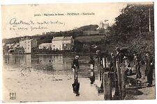 CPA 29 - Environs de Brest (Finistère) - 50101. PENFELD - Ker-Guillo (animée)