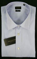 Camicia Uomo Classica Cotone VALENTINO Made in Italy D015 a Righe Mis.Collo 44