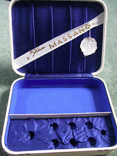 Vintage 1960s 60s white storage jewellery cuttlery Dr Kuhnke Massano massage box