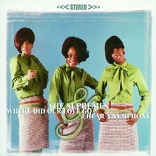 Where Did Our Love Go/I Hear a Symphony by The Supremes (2 albums on 1 CD