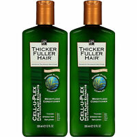 (2 Pack) NEW Thicker Fuller Hair Weightless Conditioner Cell-U-Plex 12 Ounces
