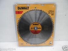 DEWALT DT1926 355MM X 25.4MM 66T TCT METAL CUTTING SAW BLADE DW872 CHOPSAW