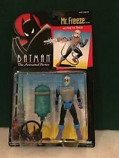 Mr Freeze Batman The Animated Series Figure On Sealed Card Kenner 1993