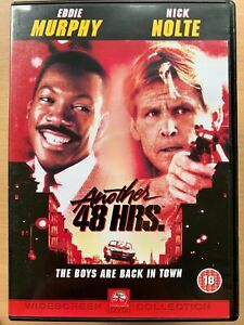Another 48 Hrs DVD 1990 Hours Action Comedy Sequel w/ Nick Nolte + Eddie Murphy