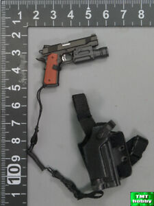 1//6 Scale 1911 Pistol w// Holster Dragon Action Figures Jim Force Recon