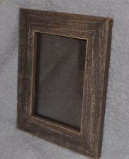 Reclaimed Rustic Weathered Brown Barn Wood 5x7 Unique Picture Photo Frame