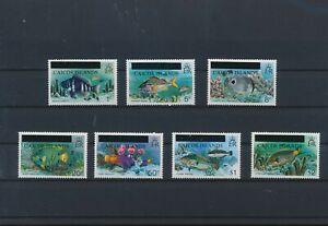 LO60220 Turks & Caicos overprint fish shell coral sealife fine lot MNH