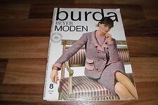 BURDA MODEN # 8 / 1964 -- Louis Feraud schlägt vor / Seemannsjacken / Herbstmode