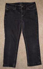 White House Black Market Sz 0 Crop Jeans Blanc Capris