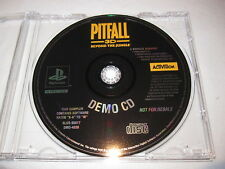 Pitfall 3D Beyond the Jungle DEMO CD (PlayStation PS1) in Plain Case Excellent~