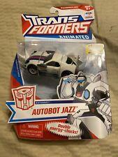 Hasbro Transformers Animated Deluxe Autobot Jazz Action Figure