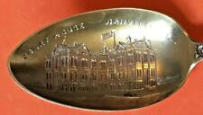 RARE DANVILLE ILLINOIS COURT HOUSE STERLING SILVER SOUVENIR SPOON